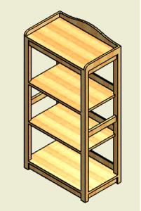 図8. 大型たな立体図