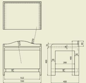 図2. レンジラック平面図