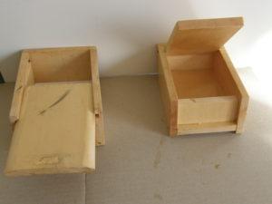 図7. エサ箱