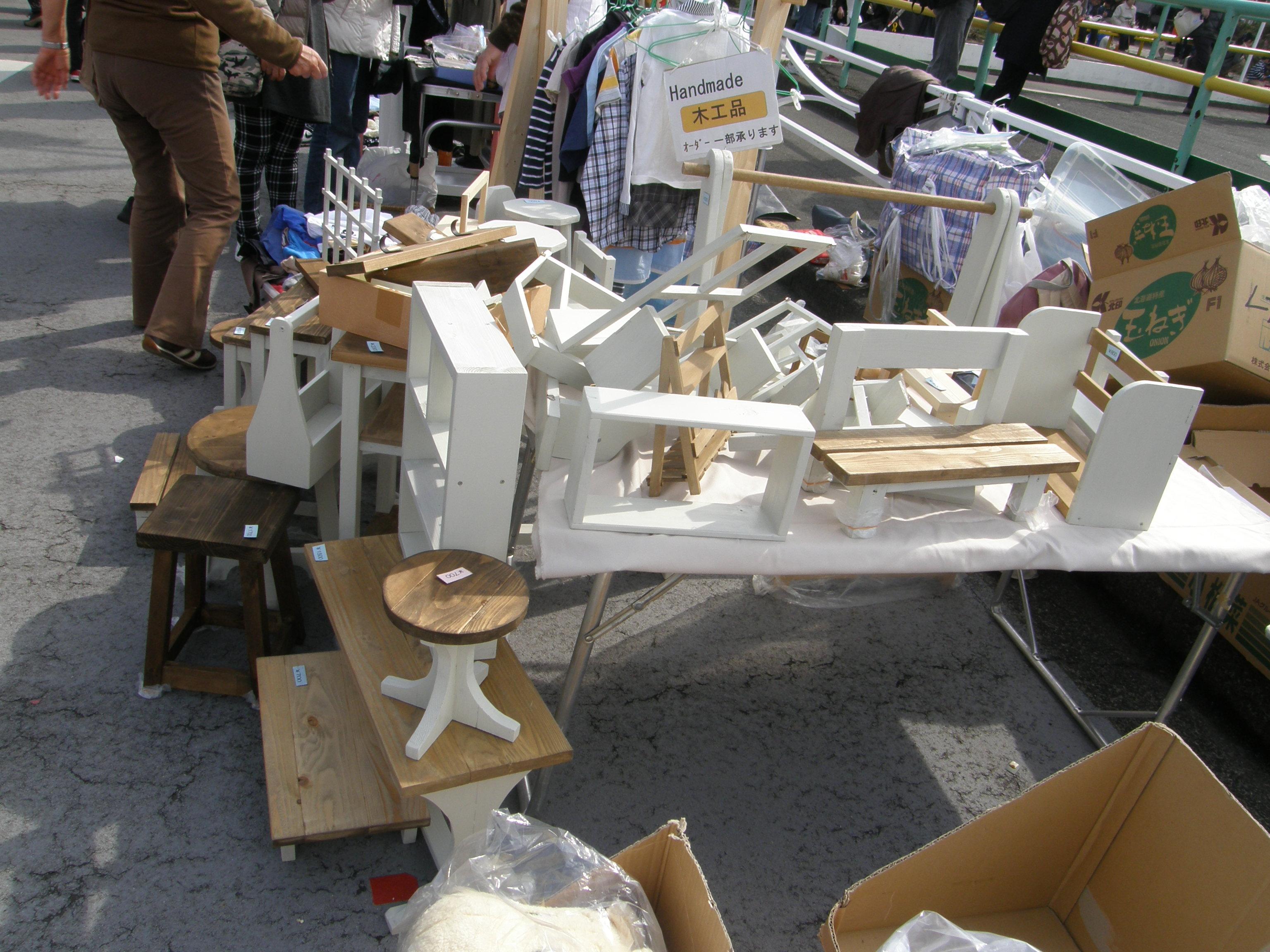 北久里浜桜まつり フリーマーケットに出店しました