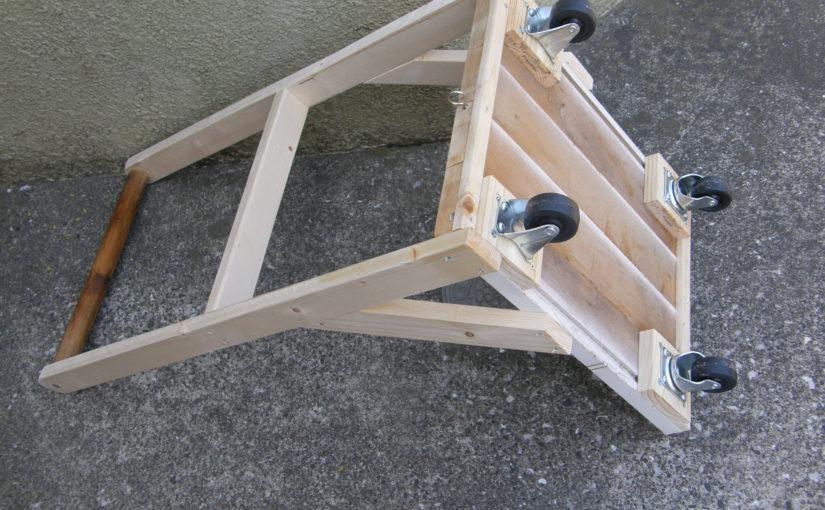 木製台車の製作